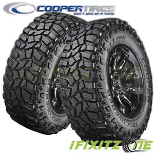2 Cooper Discoverer Stt Pro 37x13 50r20 127q E Blk Extream All Terrain Mud Tires