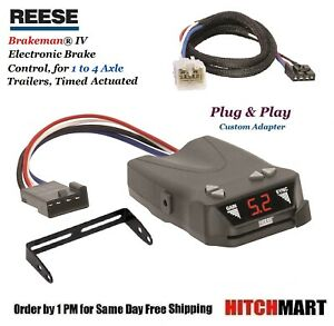 Reese Trailer Brake Control Adapter For Lx470 570 4runner Tacoma Tundra