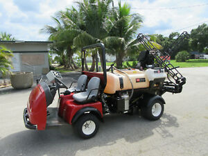 3300 Toro Workman Diesel 200 Gal 18 Ft Boom Lawn Sprayer Dump 920 Hrs