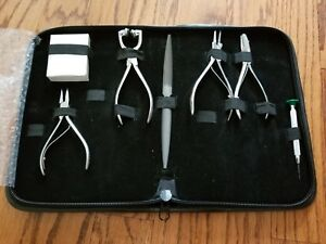 Grobet Optometry optician Tool Kit Optical Tools For Glasses W Vigor Lens Clock