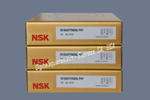 Nsk 7018a5tynsulp4y Abec 7 Super Precision Spindle Bearings Matched Set Of 3