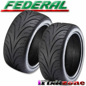 2 New Federal 595rs r 195 50zr15 82w Summer Performance Sport Racing Uhp Tire