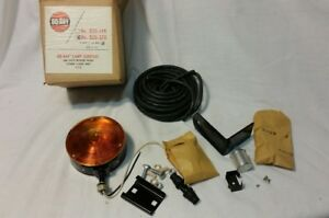 Nos Vtg Do Ray 825 3 Red Amber Double Sided Rat Hot Rod Tail Light Lamp Flasher