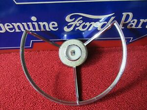 1957 Ford Horn Ring trim Extra Nice f740