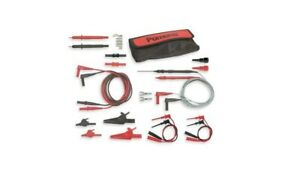 Pomona 5677b Deluxe Multi use Electronic Dmmm Maxi Test Lead Kit