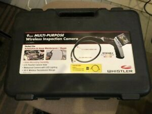 Whistler 9mm Multi purpose Wireless Inspection Camera Model Ic 3409px