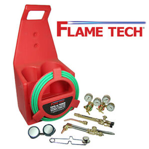Flame Tech Ftptk 18 Portable Cutting Torch Kit Victor Style Oxy acetylene