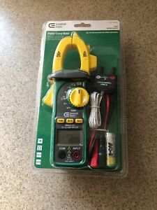Digital Clamp Meter Commercial Electric 600a New