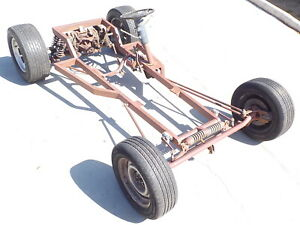 1923 Ford T Bucket Rolling Chassis Hot Rod Rat Rod Model T Jaguar Irs Posi