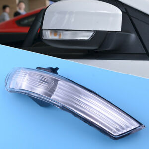 Right Wing Mirror Turn Signal Light Lens Frame 8m5113b382aa For Ford Focus 08 16