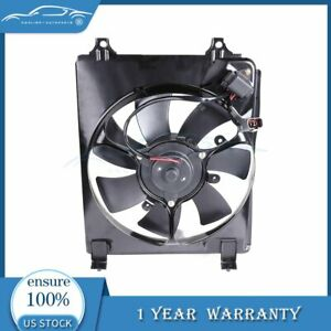 For 2006 2011 Honda Civic 1 8 2 0 12v Rh Radiator Condenser Electric Cooling Fan