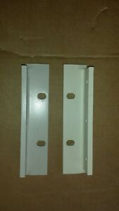 1 Set Agilent Hp 5 2 Rack Mount Ears For Use Without Handles Light Grey