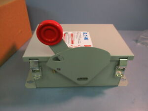 Nib Eaton Cutler Hammer Dh361udk 3p 30a 600v Non Fused Switch