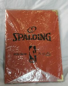 New Spalding Nba David J Stern Letter Size Portfolio Binder Notebook 8 5 X 11