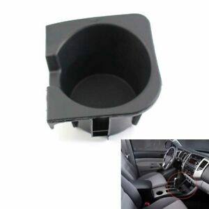 Cup Holder Insert Fit For 10 15 Toyota Tacoma Black Center Console Right Us Ship