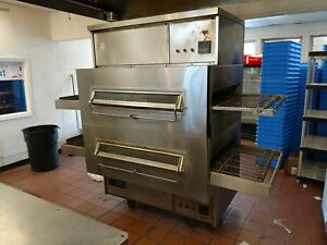 Marshall Ps360 Conveyor Pizza Oven Double Stack Restaurant