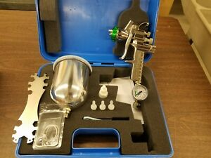 Hvlp Paint Spray Gun 1 5mm With Accessories New Demo In Carry Case