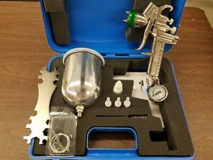 Hvlp Paint Spray Gun 1 7mm With Accessories New Unused In Carry Case