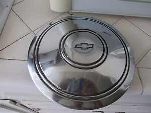 Vintage 1967 1968 1969 Chevrolet Police Fire Hub Cap Good Condition One Only