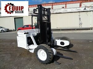 Tailgater 500awd Forklift Boom Truck Piggy Back Diesel 5 000 Lbs