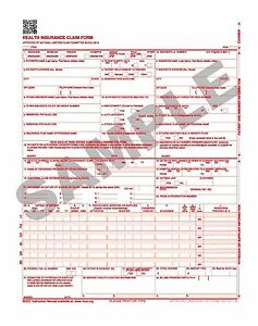 2500 Laser Cms 1500 02 12 Insurance Hcfa Claim Forms