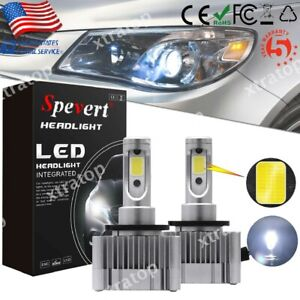 110w D1s D3s 6000k Led Headlight Conversion Kit 26000lm Bulbs Cob Chip 2x Lamps