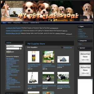 Pet Supplies Store Ready To Go Online Business Outstanding Income Potential
