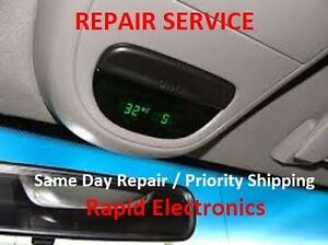 Ford F150 F250 F350 1998 2008 Overhead Console Temp Compass Fuel Display Repair