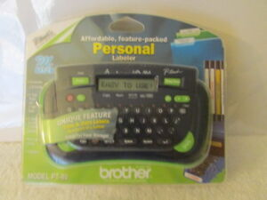 Brother P touch Personnel Labeler Bx ac
