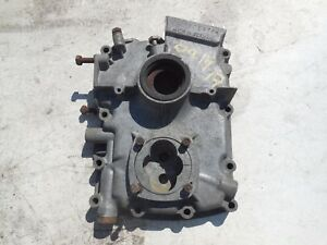 1962 Porsche 356 356b Engine Motor Case Cover Timing Third Piece Front 805416