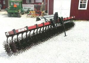 Used M w 15 Ft Spike Aerator Hd 3 Pt 1 85 Per Loaded Mile Shipping Available