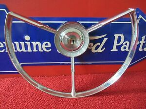 1956 Ford Horn Ring Trim Nice f748