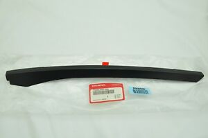 New Genuine Oem Honda 1996 2000 Civic Cx Dx Left Side Window Trim 73850 S00 A00