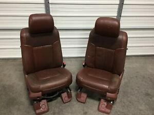 1999 2016 Ford F250 F350 F450 Super Duty King Ranch Front Seats