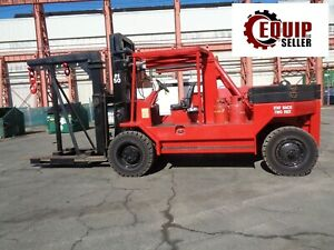 2012 Riggers Special Rs 50 50 000lb Forklift With Riggers Boom