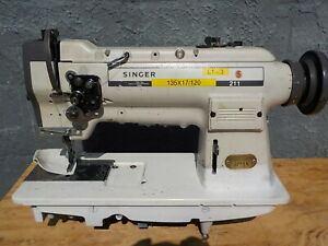 Industrial Sewing Machine Model Singer 211 white Single Walking Foot Leather
