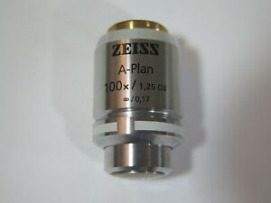 Zeiss A plan 100x Oil Immersion Microscope Objective