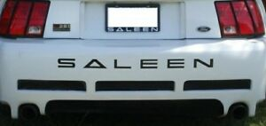 Rear Decal Bumper Letters For Ford Mustang Saleen 1999 2004