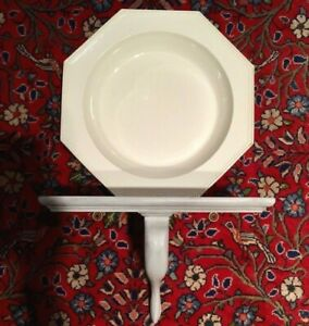 Antique English Creamware Charger Plate Shallow Bowl