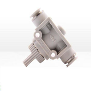 Plastic Air Push In Fitting Pneumatic Connector Manual Valve Switch Quick plug