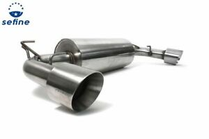 Perrin 3 Cat back Exhaust Stainless Steel For Scion Fr s Toyota 86 Subaru Brz