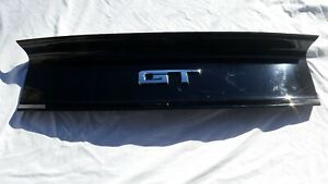 2015 2018 Ford Mustang Gt Rear Black Trunk Lid Trim Panel With Emblem Camera Oem Fits Mustang