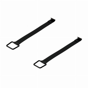69 73 Porsche 911 Stainless Battery Hold Down Strap Set 90161102200