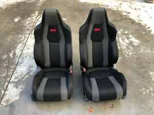 2017 2018 Honda Civic Si Coupe Turbo Left Right Front Seat Set Oem 17 18