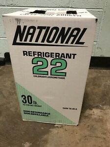 R 22 Refrigerant 30lbs Cylinder New Factory Sealed