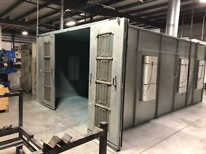 24 L X 12 5 W X 8 H Cross Draft Spray Paint Booth