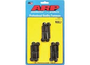 Arp 154 2001 Chromoly Intake Manifold Bolt Kit Black Oxide Hex Head Ford 302 351