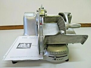 Hobart 410 Commercial Meat And Cheese Deli Slicer W sharpener Manual
