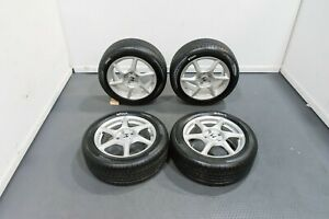 Bbs Jdm Honda S2000 Oem Forged Wheels Silver With Good Tires 16x6 5 16x7 5 5x114