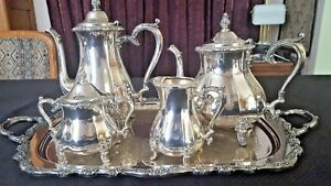 Vintage Silver Plate Coffee Tea Set Think Mother S Day